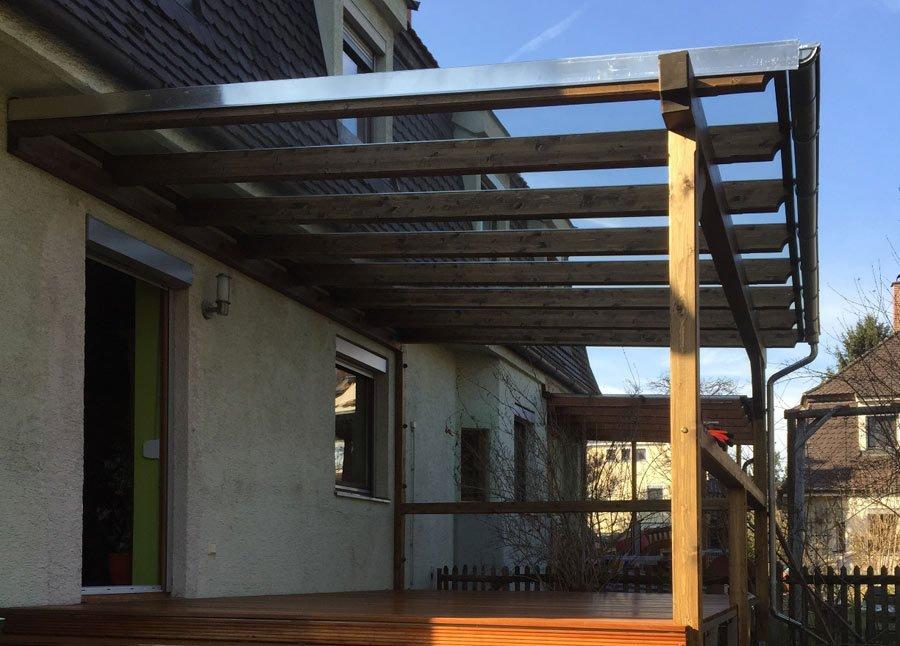 Terrassenüberdachungen aus Holz von Stefan Lutz Überdachungen