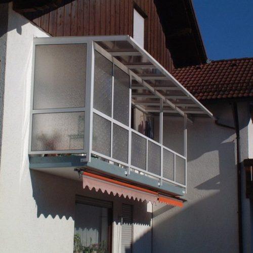 Balkonüberdachung von Stefan Lutz Überdachungen in München