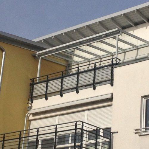 individuelle Balkonüberdachung