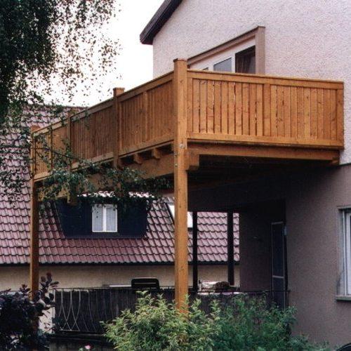 Holzbalkon von Stefan Lutz Überdachungen