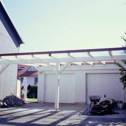 Bau eines Carports von Stefan Lutz Überdachungen