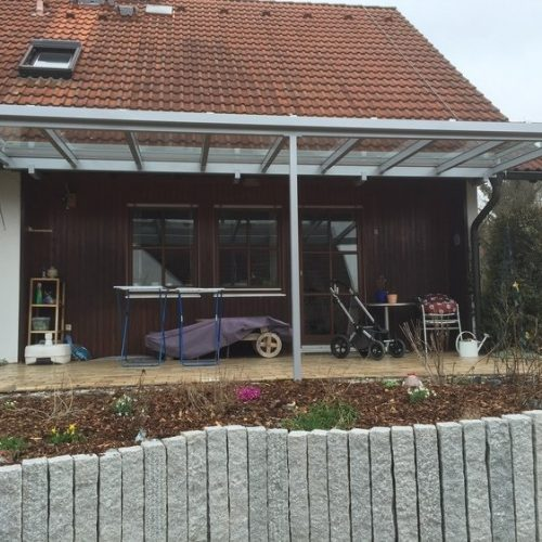 Terrassendach aus Aluminium von Stefan Lutz Überdachungen