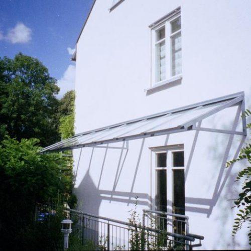 Kellerabgang mit Überdachung von Stefan Lutz Überdachungen