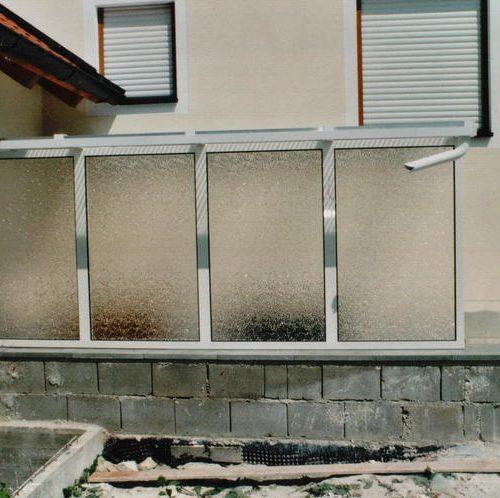 Bau eines Kellerabgang mit Fenstern von Stefan Lutz Überdachungen