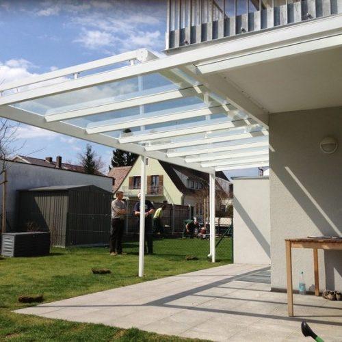 Terrassenüberdachung aus Aluminum