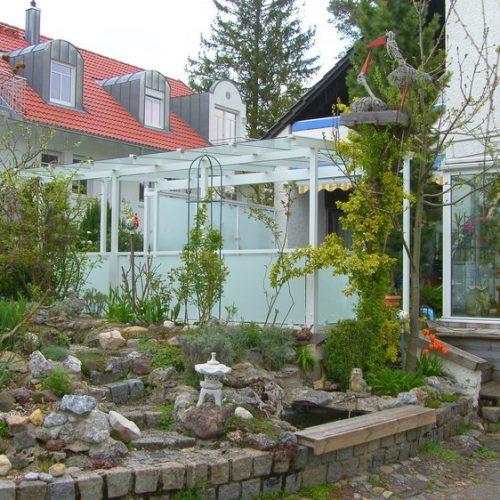 Terrassendach aus Aluminium, individuell nach Ihrem Wunsch
