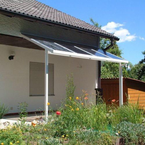 kleines Terrassendach aus Aluminium