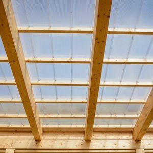 Terrassenüberdachung Holz Ausbau Dach 3