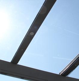 Terrassenüberdachung als Aluminium