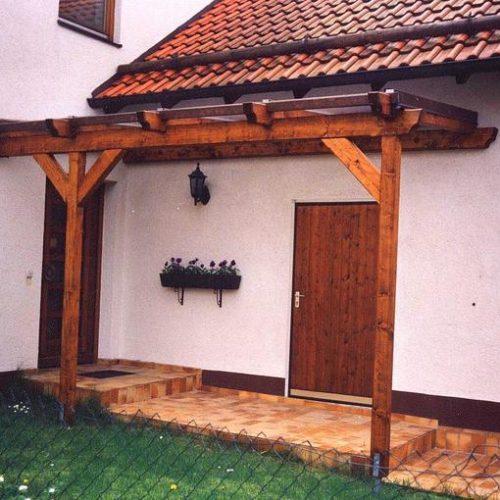 Vordach aus Holz von Stefan Lutz Überdachungen