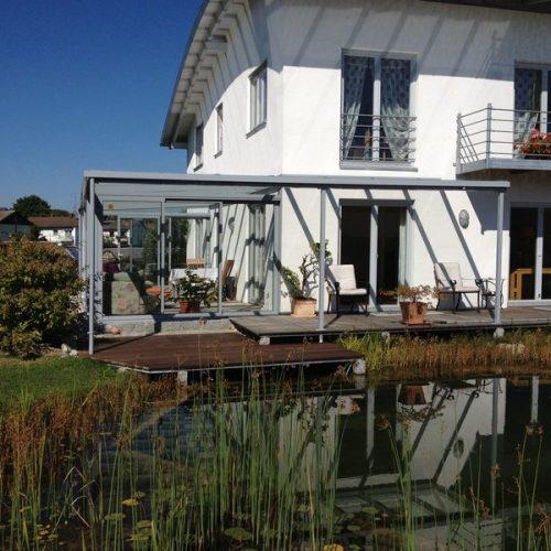 Referenzbild eines Wintergartens und Terrassenüberdachung von Stefan Lutz Überdachungen