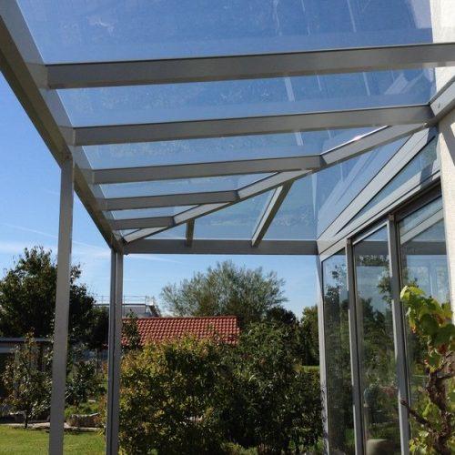 Wintergarten-Dach aus Glas