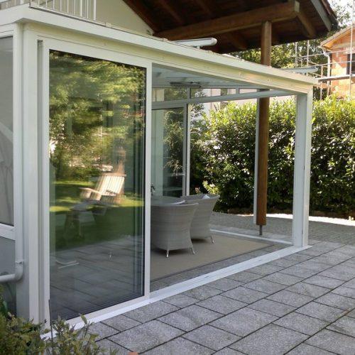Wintergarten mit Schiebeelementen wird zur Terrasse