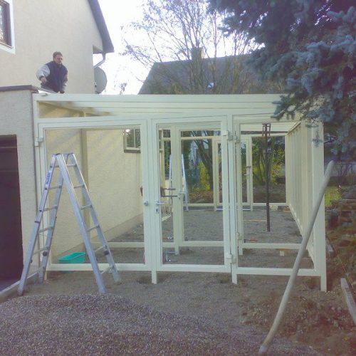 Bau eines Wintergartens von Stefan Lutz Überdachungen