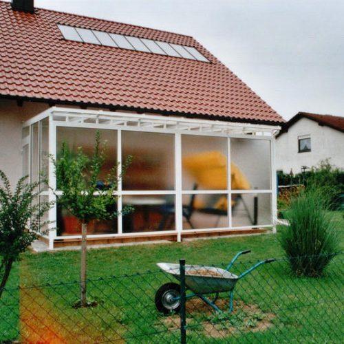 Wintergarten mit Sichtschutzglas von Stefan Lutz Überdachungen