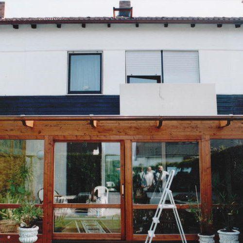 Wintergarten aus Holz und Glas von Stefan Lutz Überdachungen