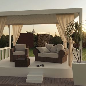 AdobeStock/Brilliant Eye Freistehende Terrassenüberdachung