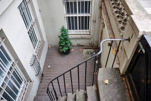 Kellertreppe draußen